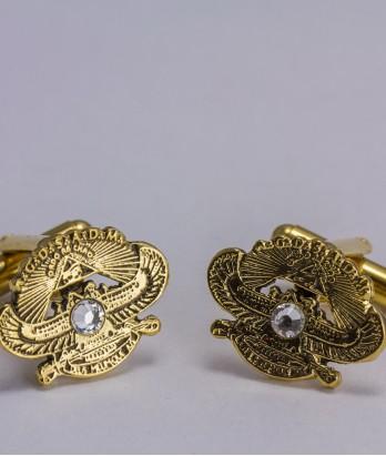Butoni masonici - A.P.R.M.M. (cristal Swarovski)