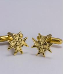 Butoni masonici - Cruce cavaler (var. 1)