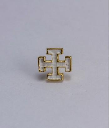Cruce cavaler (alba)