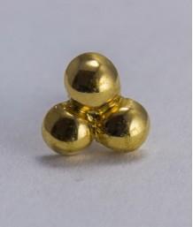 Pin masonic - 3 puncte (mare)