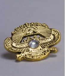 Pin masonic - A.P.R.M.M. (Anticul si Primitivul Rit de Memphis si Misraim)