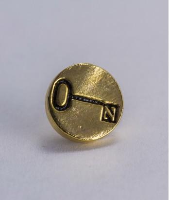 Pin masonic - Cheie (Grad 4, var. 1)