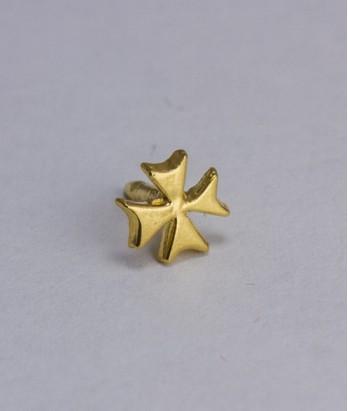 Pin masonic - Cruce cavaler (var. 1)