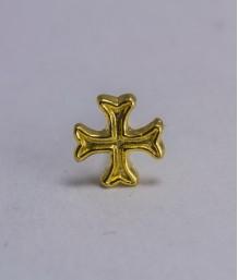 Pin masonic - Cruce cavaler (var. 2)