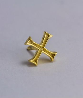 Pin masonic - Cruce cavaler (var. 3)