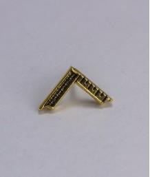 Pin masonic - Echer Maestru Venerabil (var. 2)