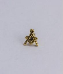 Pin masonic - Echer si compas (var.1)
