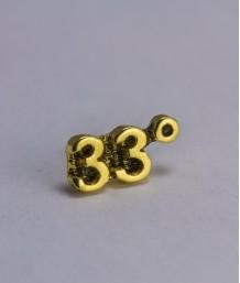 Pin masonic - Grad 33