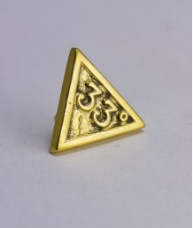 Pin masonic - Grad 33 (triunghi)
