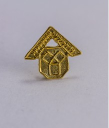 Pin masonic - Maestru Venerabil din Trecut (var. 2)