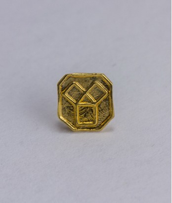 Pin masonic - Maestru Venerabil din Trecut (var. 3)