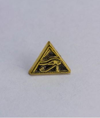 Pin masonic - Ochiul lui Horus (triunghi)