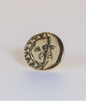 Pin masonic - Soare si Luna