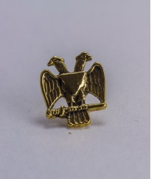 Pin masonic - Vultur bicefal