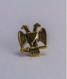 Pin masonic - Vultur bicefal