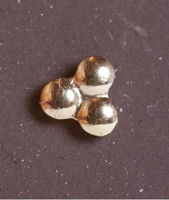 Pin masonic din aur - 3 Puncte